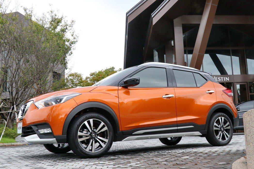 Nissan Kicks的車身尺寸與其他競爭對手差異不大。 記者陳威任/攝影
