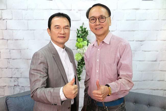 理財我最大-理財周刊發行人洪寶山(左)、徐永達(右)