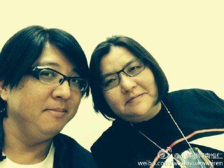 袁惟仁和邱瓈寬是多年好友。圖/摘自微博