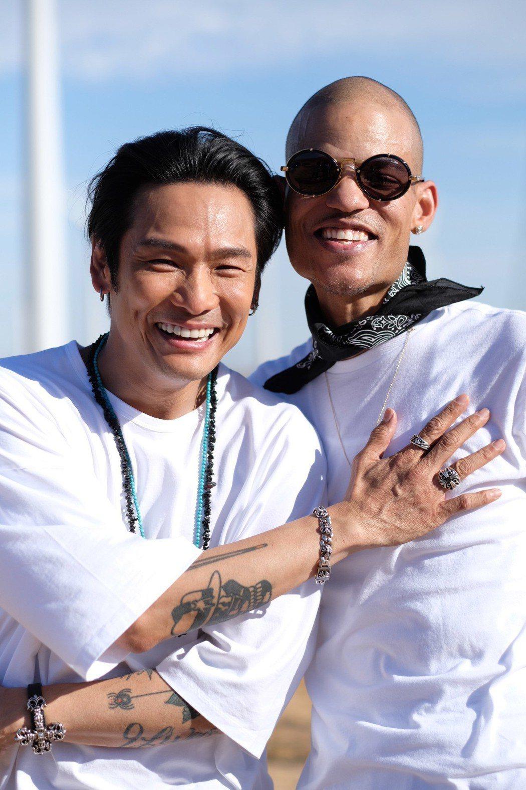 杜德偉(左)邀請音樂人好友Detroit Diamond合作,但他等不及歌曲發表