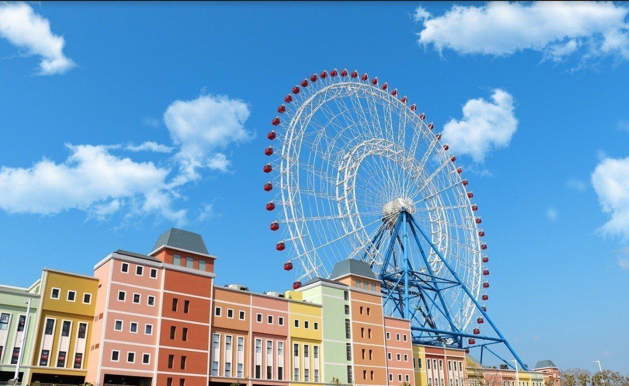麗寶樂園摩天輪。圖/台中市政府觀旅局提供