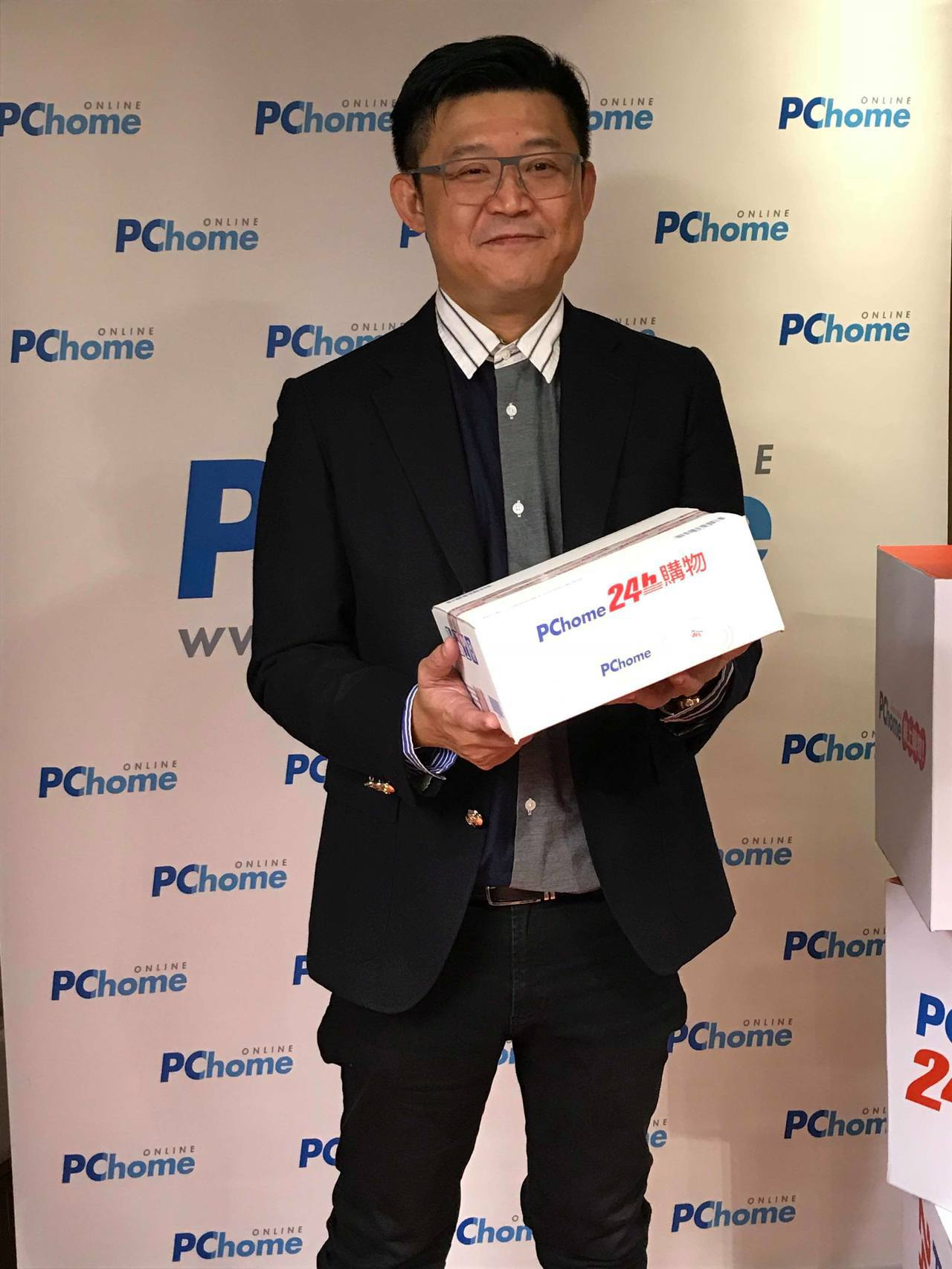 PChome 24h購物總經理蔡凱文。聯合報系資料照片