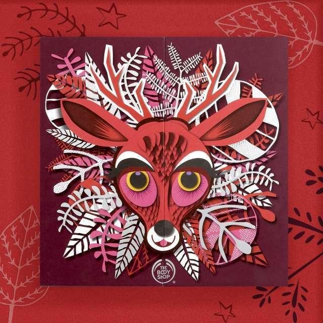 THE BODY魔法森林麋鹿原裝禮盒,售價5,980元,限量。圖/THE BOD...