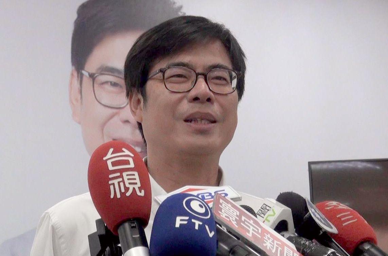 民進黨高雄市長候選人陳其邁。 記者楊濡嘉/攝影