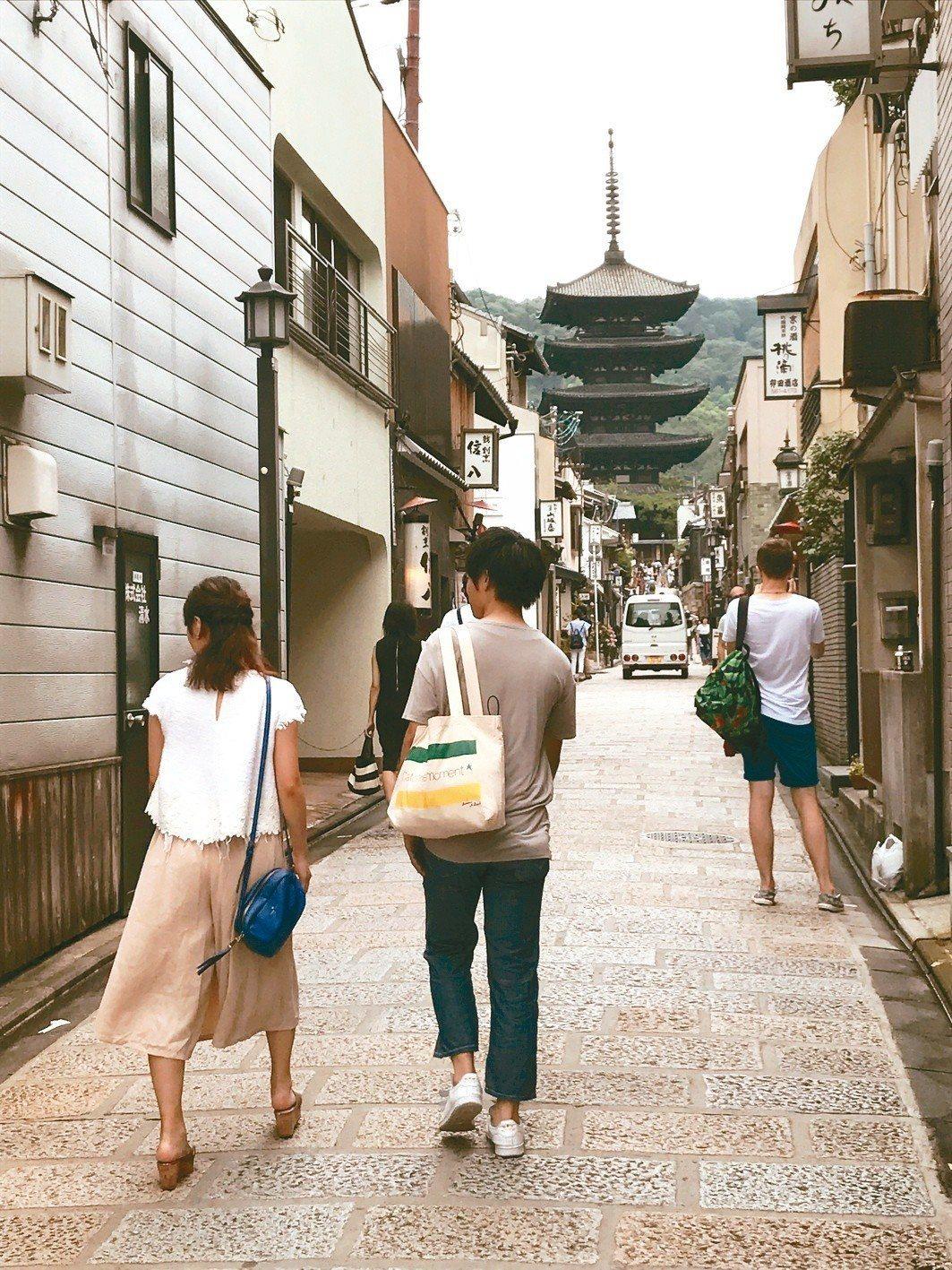 京都需要多次尋訪,才能真正領略她的美。(圖/李清志提供)