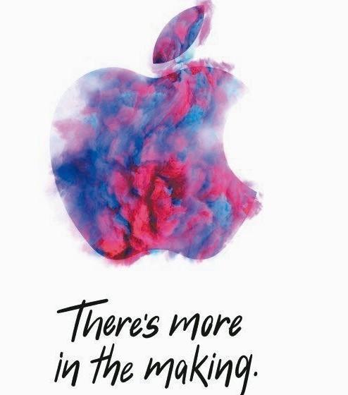 蘋果新品邀請函,上面寫著「There is more in the Making...