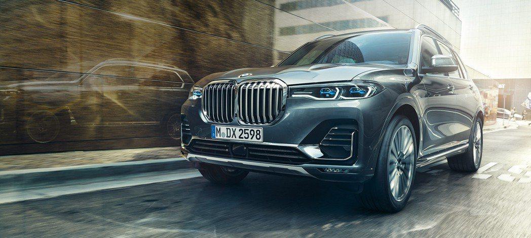 全新BMW X7堪稱是史上最大的X系列。 摘自BMW