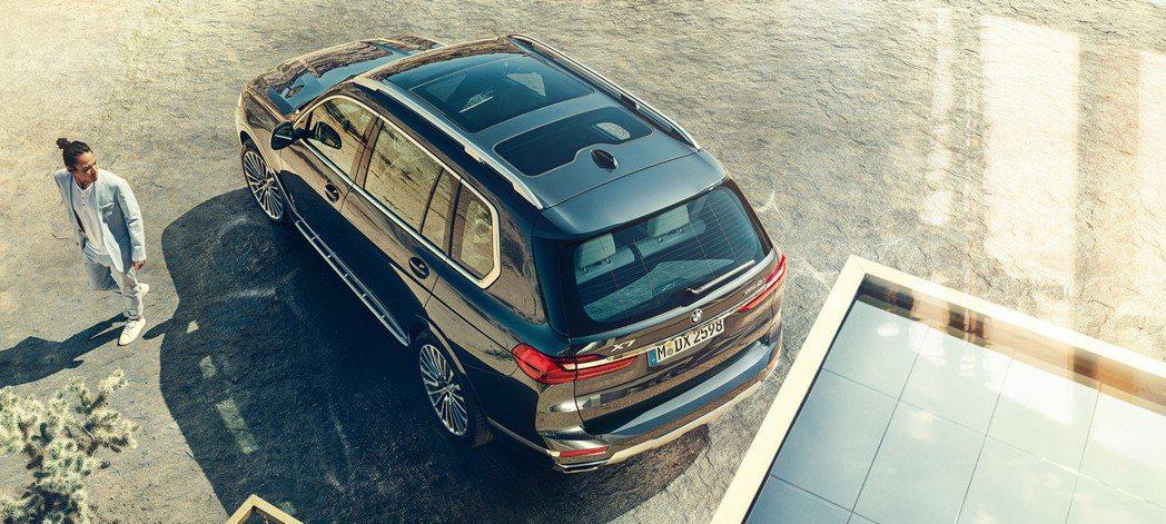 全新BMW X7的售價也為X系列之最。 摘自BMW