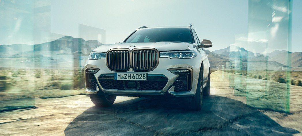全新BMW X7,圖為X7 M50d車型。 摘自BMW