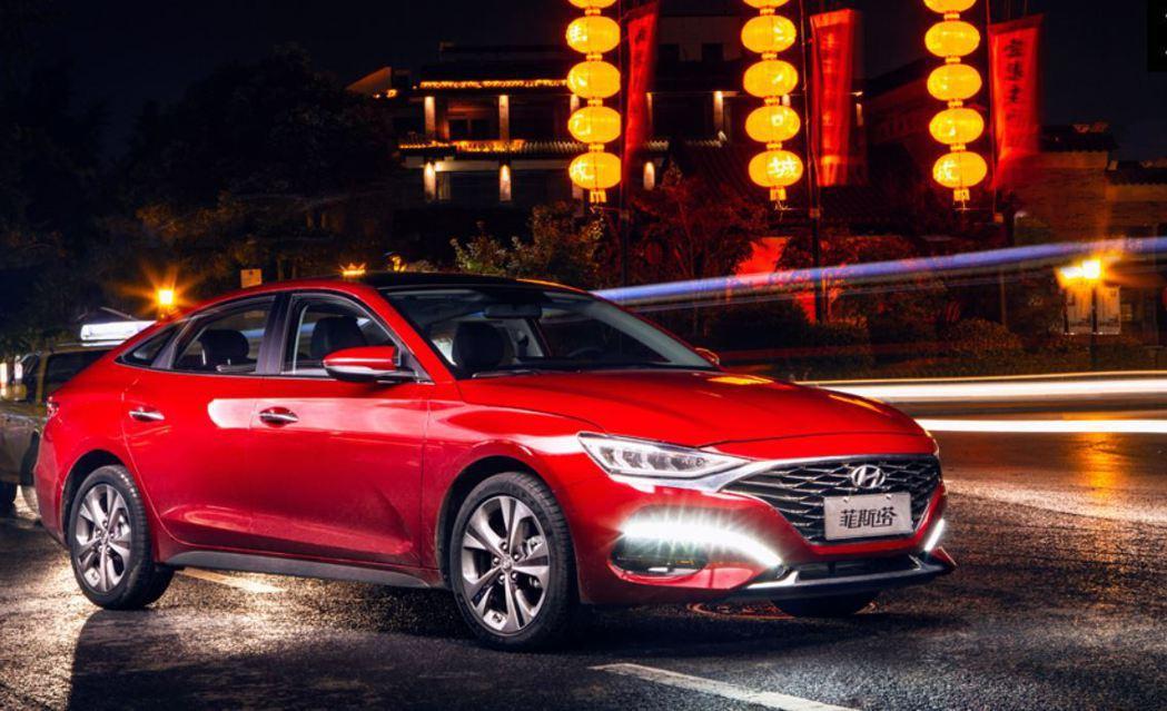 Hyundai Lafesta。 摘自北京現代