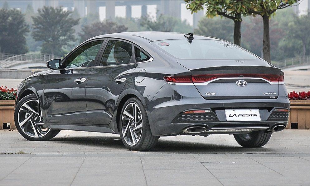 Hyundai Lafesta。 摘自搜狐汽車
