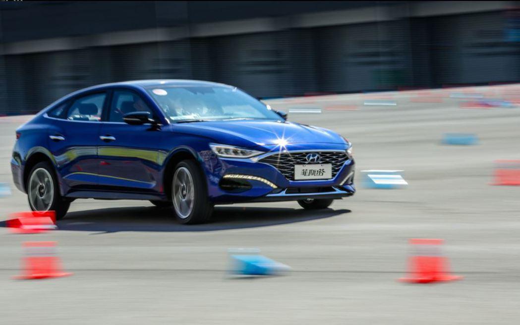 Hyundai Lafesta為中國限定車款。 摘自北京現代