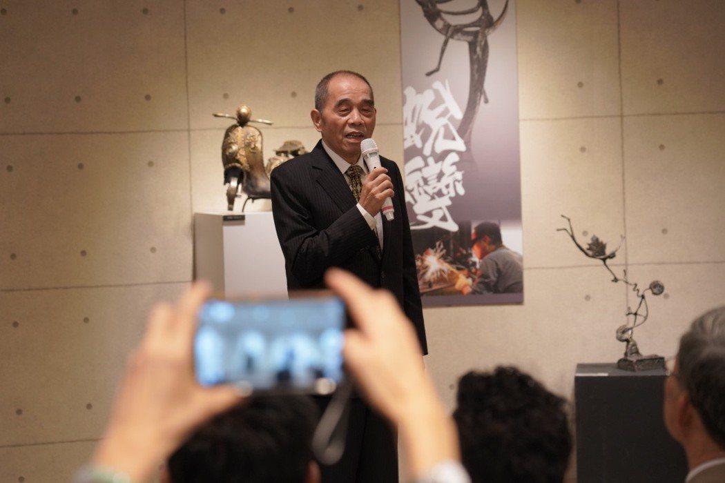 健行科大董事長彭壽春致詞。 健行科大/提供。