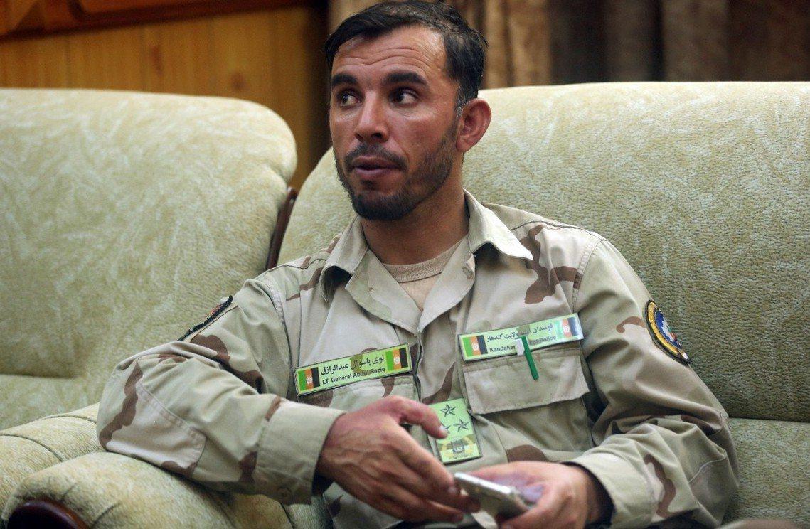 阿富汗的「坎達哈酷刑司令」拉齊克中將。 圖/美聯社