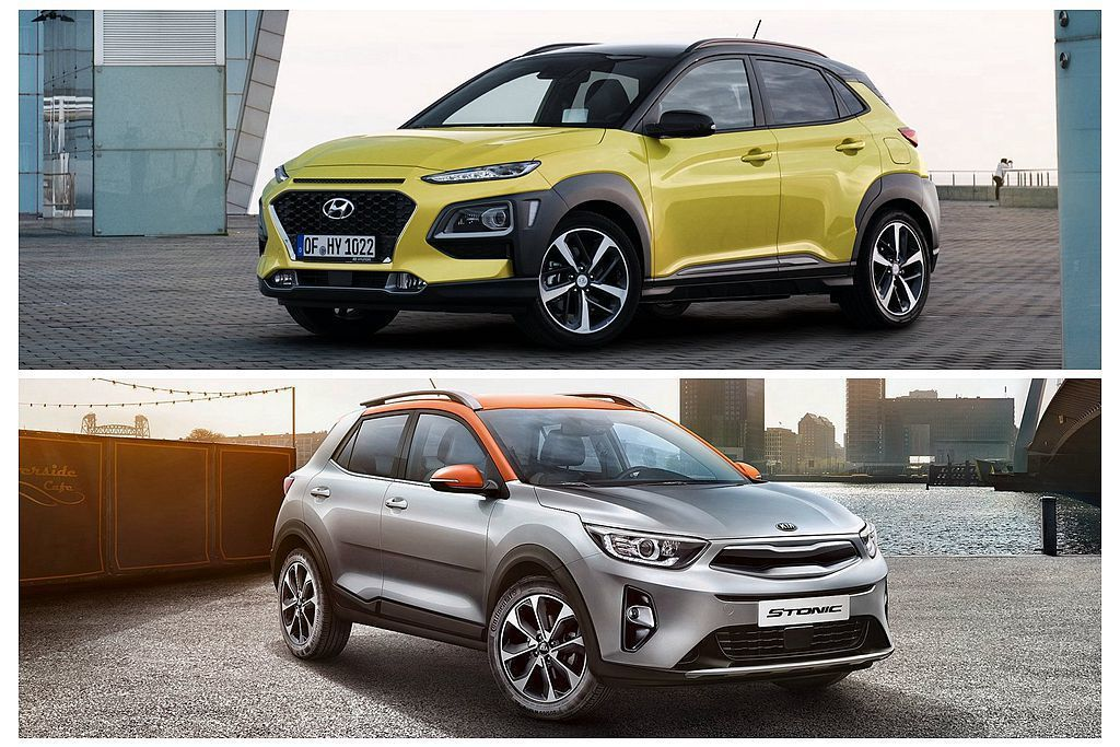 相同在年初台北車展現身的Hyundai Kona、Kia Stonic韓系雙生跨...