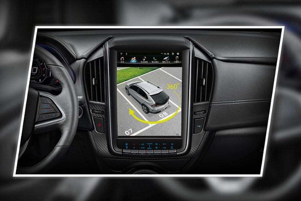 納智捷U5自自AR環景版車型起,就配有相當便利的環車AR安全影像系統。 圖/Lu...