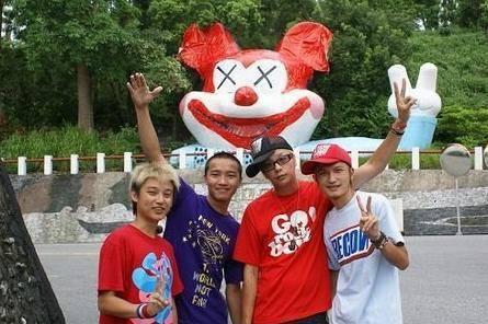 花蓮米老鼠還曾經被Circus惡搞成小丑。