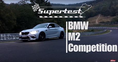 影/BMW M2 Competition載你跑一圈紐柏林賽道!7分52秒36達成!