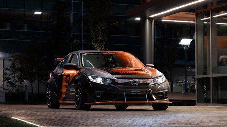 600hp四驅油電Honda Civic轎跑現身!估計3秒破百公里加速