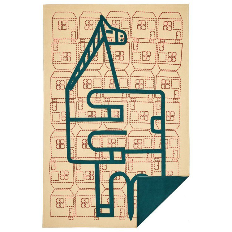 Orizaba 圖紋珍稀刺繡限量款披毯,64萬8,700元。圖/愛馬仕提供