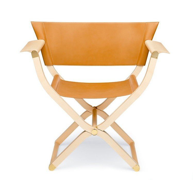 PIPPA 系列配件式家具折疊扶手椅,53萬元。圖/愛馬仕提供