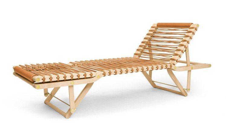 PIPPA 系列配件式家具 休憩長椅,97萬6,900元。圖/愛馬仕提供