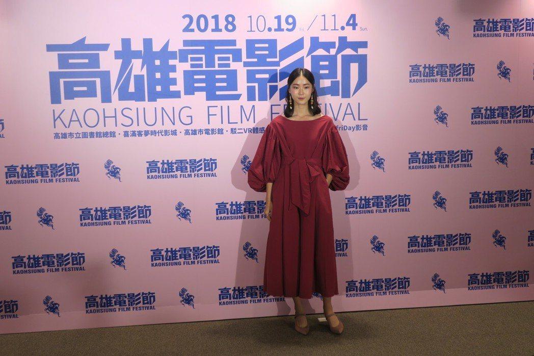 鍾瑶擔任高雄電影節影展大使。記者蘇詠智/攝影
