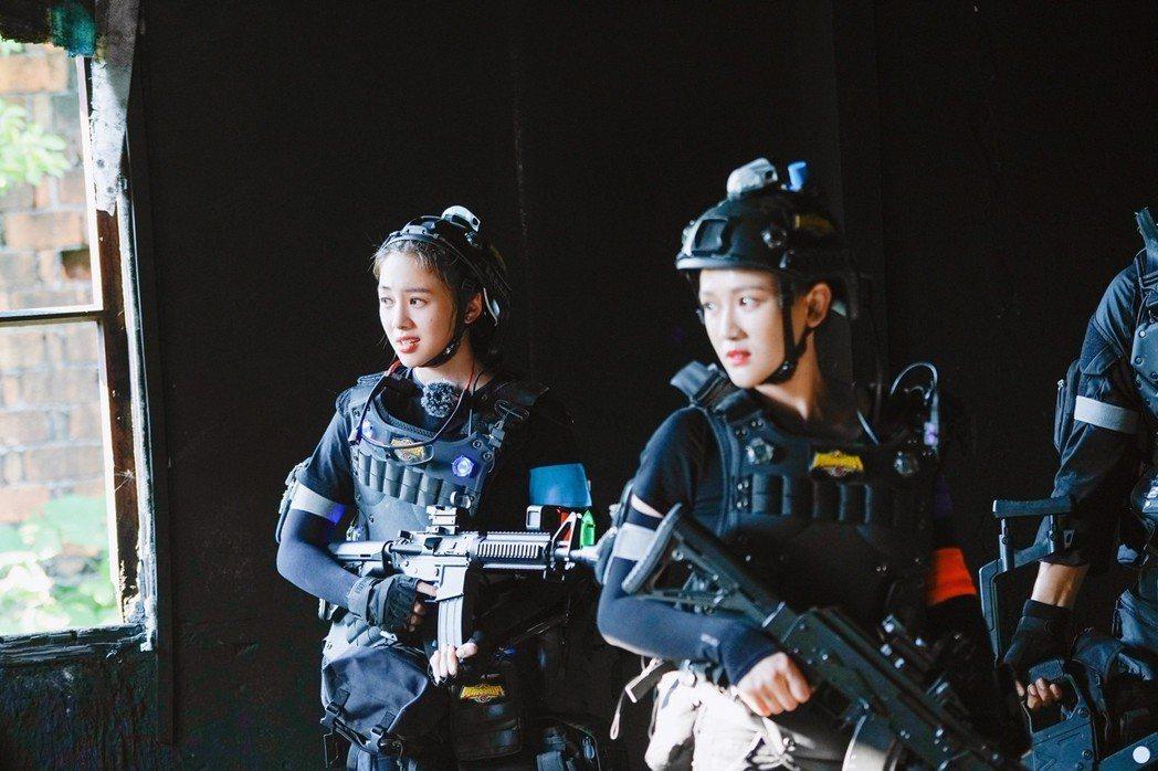 吳映潔參加對岸真人秀「勇敢的世界」。圖/芒果TV提供