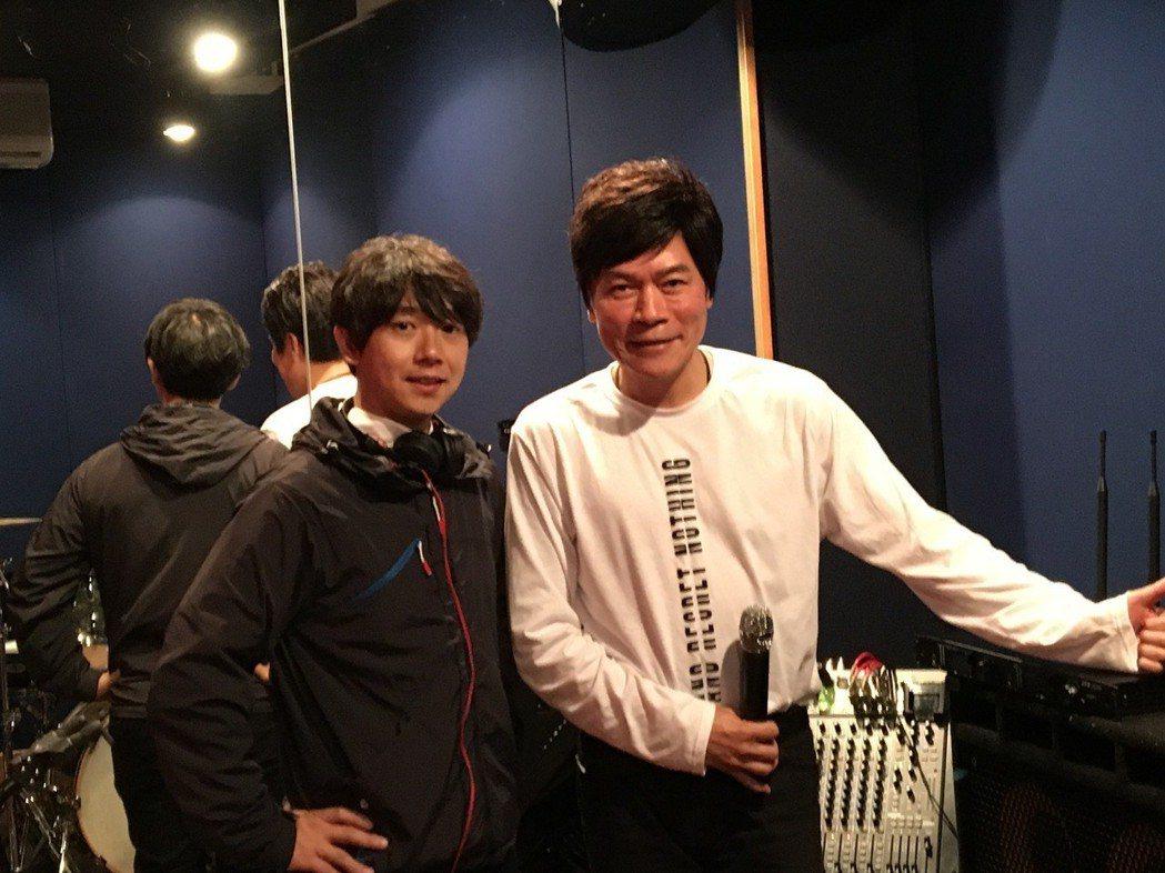 洪榮宏為高雄演唱會重金禮聘日本音控師。圖/寬宏提供