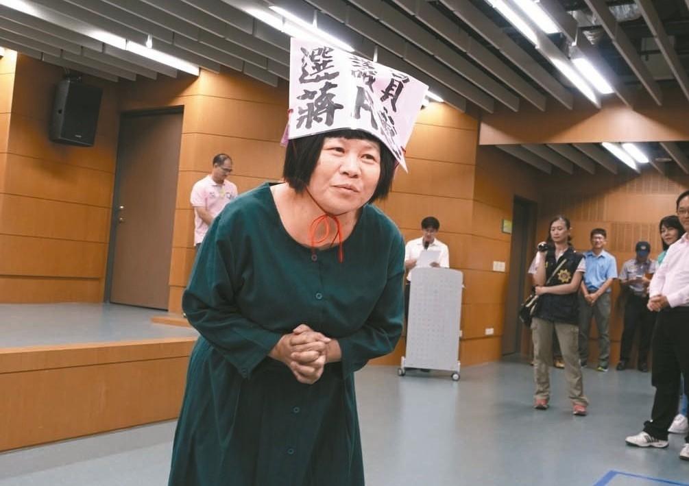 蔣月惠28日下午在臉書開砲,大罵韓國瑜是中國人思維。圖片來源/聯合報系資料照片