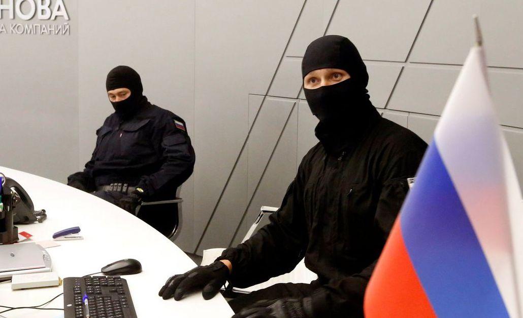俄國聯邦安全局(FSB)的特務。 (路透)
