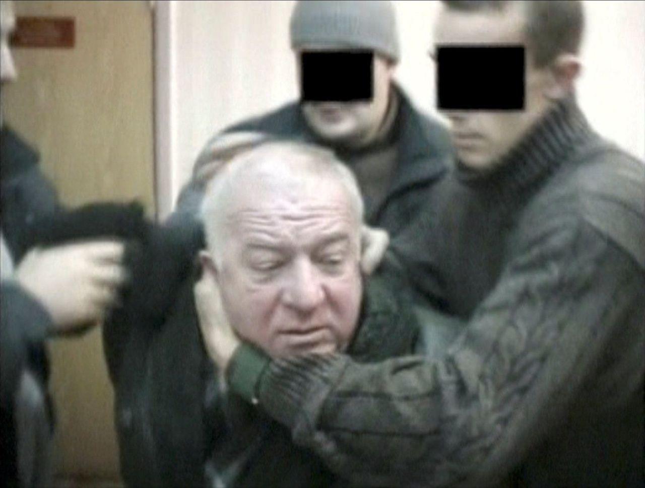 前特工史柯里帕被俄情報機關捕獲的檔案照。 (路透)