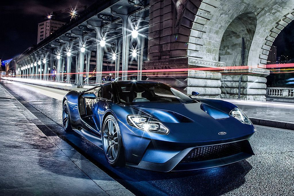 Ford GT。 摘自Ford