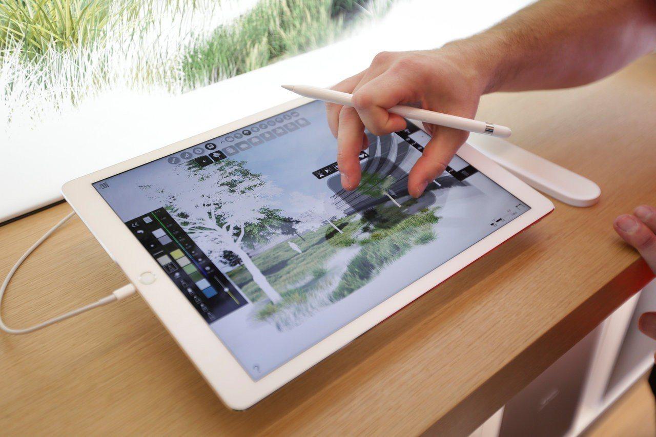 蘋果iPad。路透
