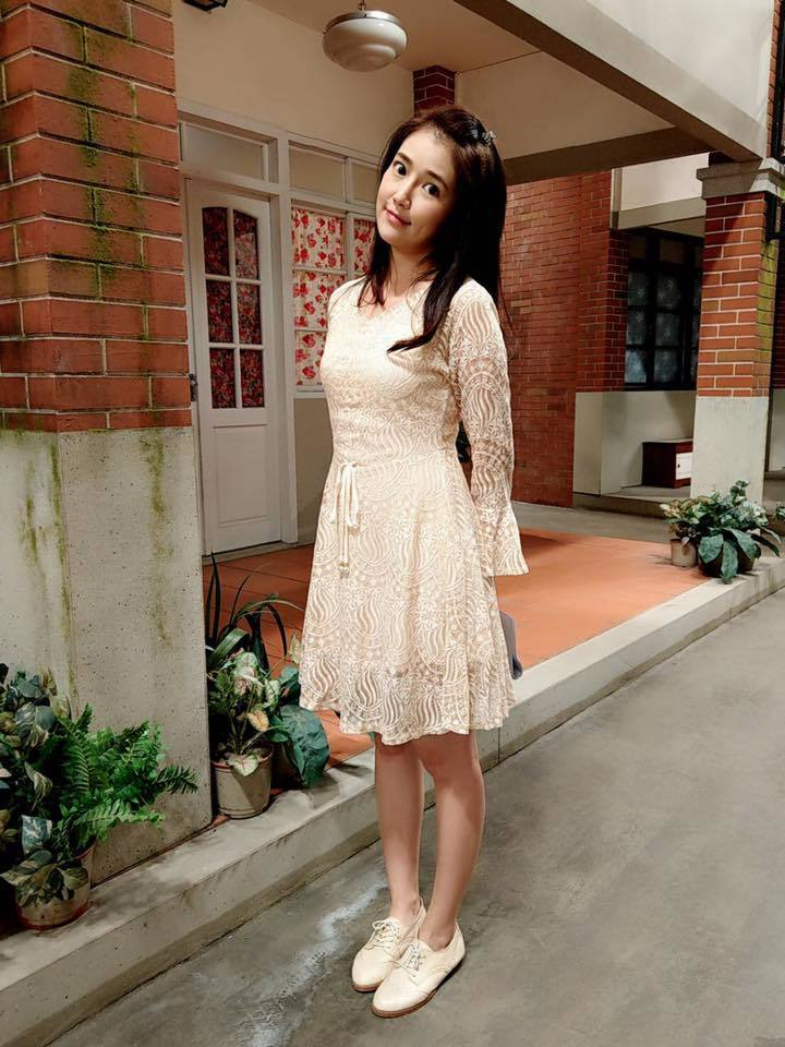 郭亞棠在「大時代」中傻妞形象令人憐愛。圖/摘自臉書