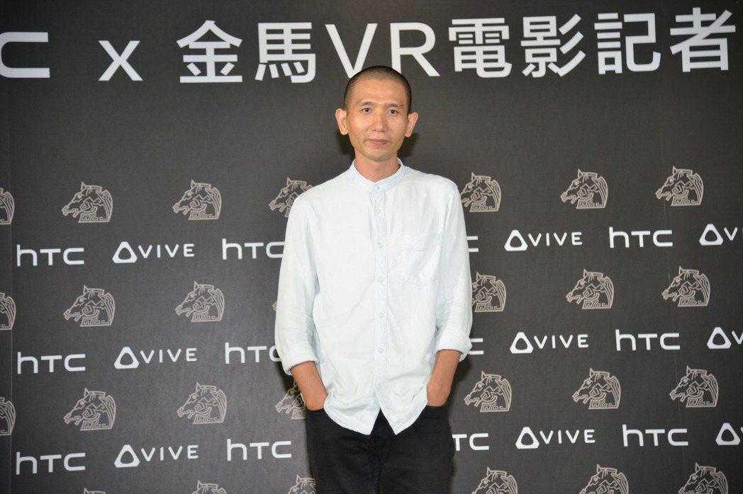 趙德胤帶來新片「幕後」,以高科技VR方式呈現。圖/HTC提供