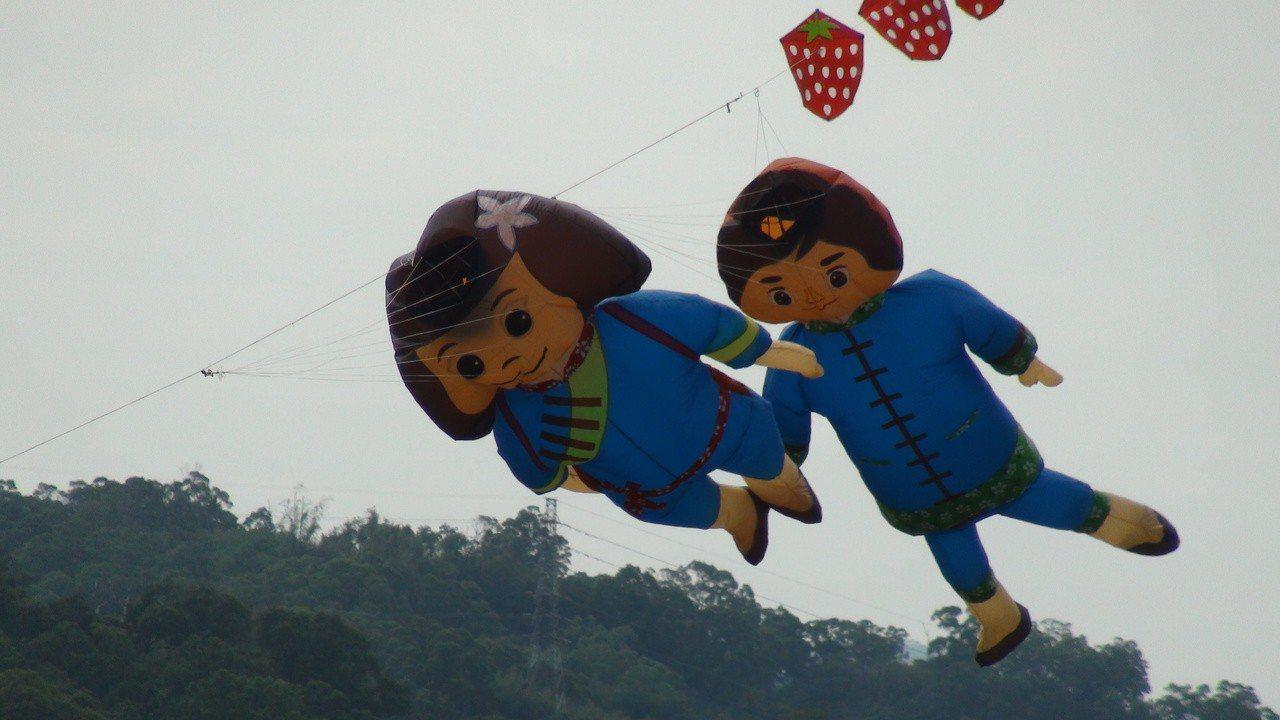 風箏。 記者胡蓬生/攝影