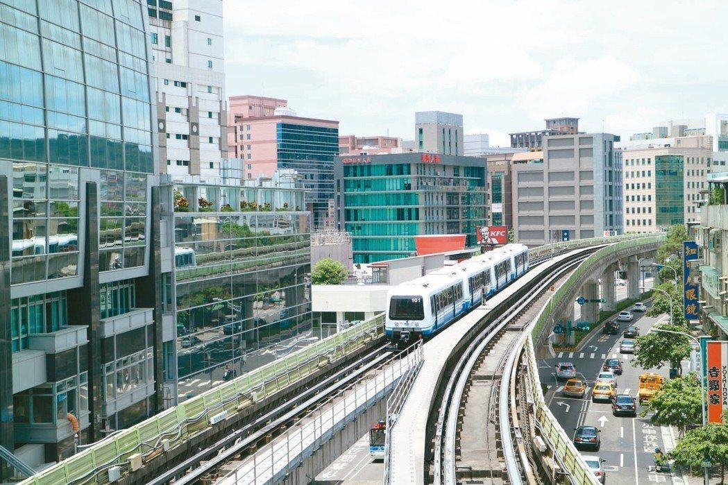 台北市捷運周邊房屋成交熱區,以捷運文湖線入榜最多熱門站點。 本報系資料庫
