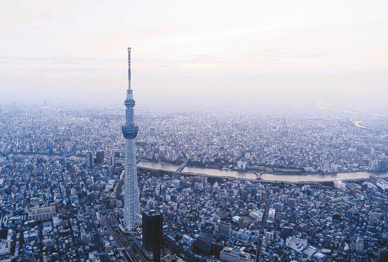 全日本包括知名地標東京晴空塔(見圖)、大阪通天閣在內的近1,000棟建築物,因為...