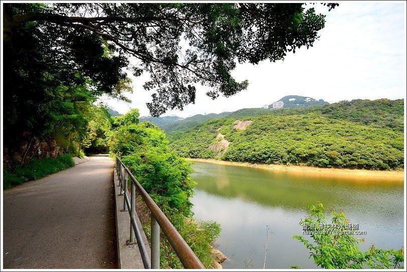 薄扶林水塘是香港第一座水庫,有約150年歷史。