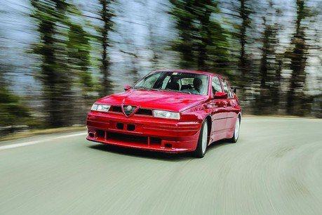 當年的BMW M3殺手!1993年的Alfa Romeo 155 GTA Stradale待售