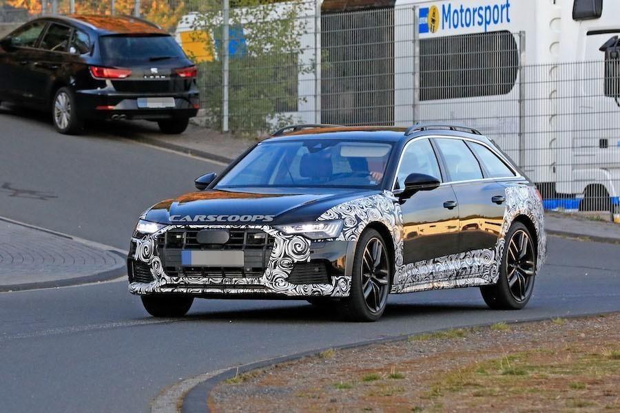 大改款Audi A6再添生力軍 Allroad車款半偽裝路試