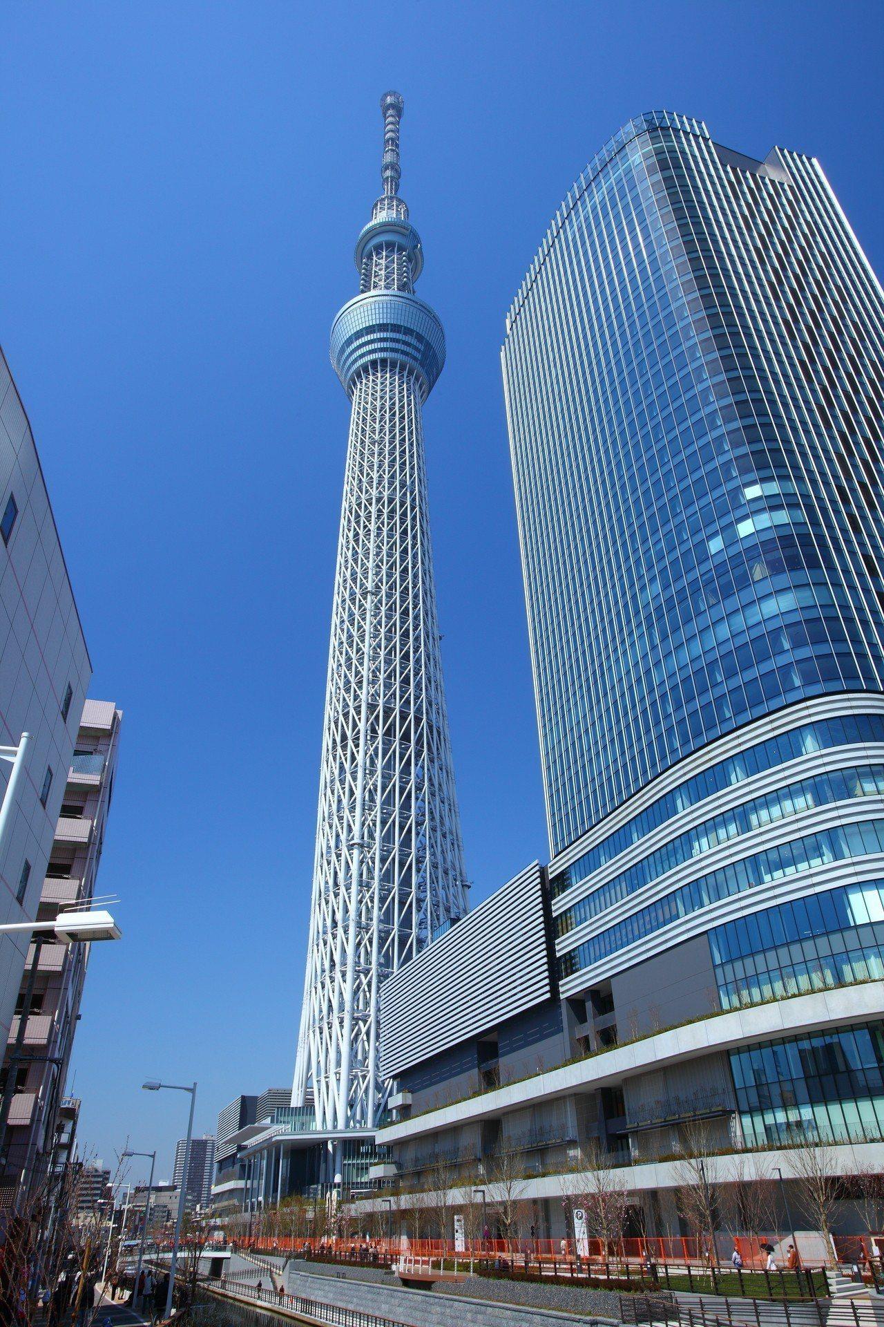 日本晴空塔。圖/全國不動產提供