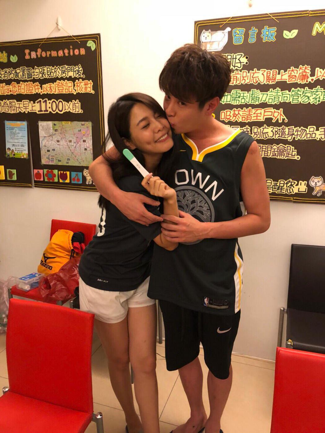 白家綺、吳東諺21日登記結婚,目前也已懷孕3個月。圖/星之國際提供