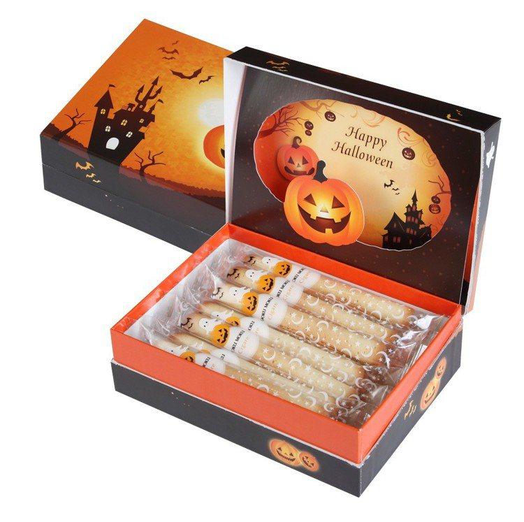 萬聖節版原味雪茄蛋捲14入,售價680元,2盒特價1,260元。圖/YOKU M...