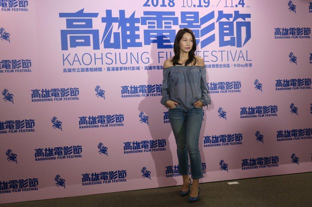 丁寧以「幸福城市」角逐金馬獎最佳女配角。記者蘇詠智/攝影