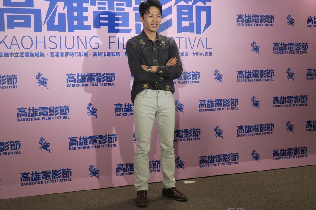 李鴻其因「幸福城市」入圍本屆金馬獎最佳男配角,過程頗為曲折。記者蘇詠智/攝影