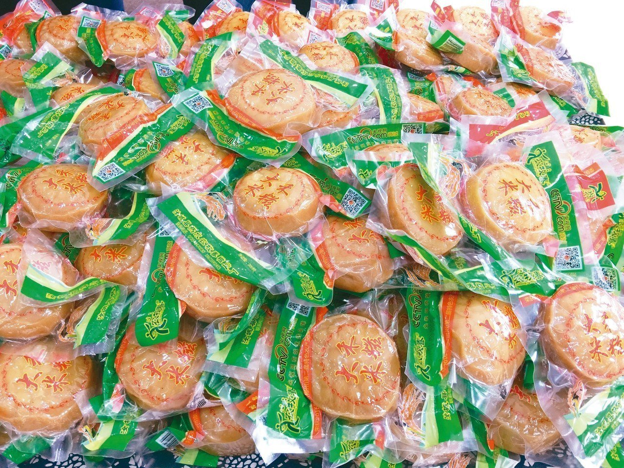 汝城傳統美食:大禾米糍。 記者汪莉絹/攝影