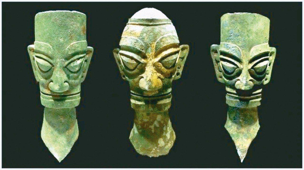三星堆遺址出土文物,印證了古蜀文明的文化傳承。 圖/本報四川德陽傳真