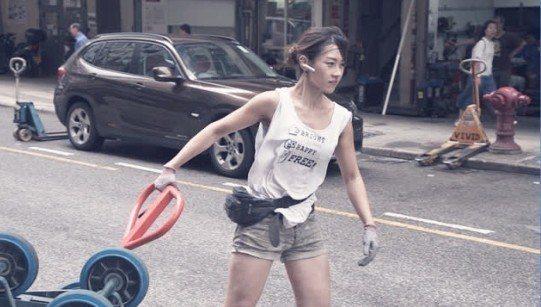 正妹搬運工朱芊佩。圖/翻攝自微博
